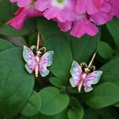 EN-15  Butterfly Earrings