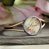 ART-128L Love ART Collection Cuff Bracelet