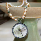 ART-205 Dragonfly ART Collection Necklace