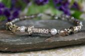 IN-326 Grace Bracelet silver tone