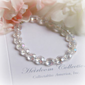 "CJ-372-6 Crystal 6"" Bracelet without a Charm"