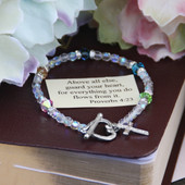 IN-132 Above all else, guard your heart Bracelet