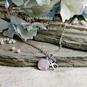 IN-505  Moms Pearls of Wisdom Necklace