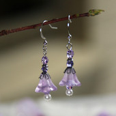 FER-255  Spring Flowers Earrings