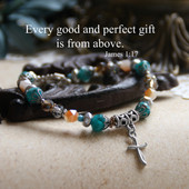 IN-160  Every good and perfect gift ...Beautiful Bracelet