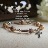 IN-165  Mustard Seed Faith Bracelet