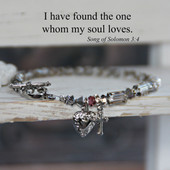 IN-169  Song of Solomon My Soul loves Bracelet
