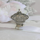 BA-79  Royal Crown Paci-Holder for Prince or Princess