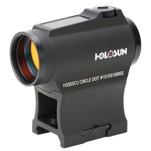 Holosun 2 & 65 MOA Red Dot Sight (Solar)
