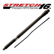 STRETCH 16 Fluted AR15 Barrel (Graphite Black)