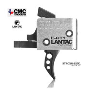 CMC LANTAC E-CT1 Curved AR15 Tactical Single Stage Trigger 3-3.5lb