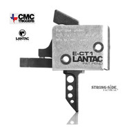 LANTAC E-CT1 Flat AR15 Tactical Single Stage Trigger  3-3.5lb by CMC Triggers