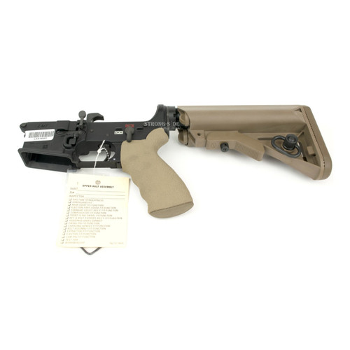LMT Defense MARS Ambi AR15 Lower - TAN