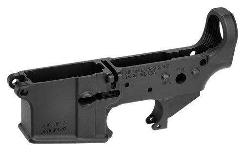 JP Enterprises JP-15 Stripped Forged Lower Receiver