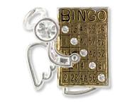 Bingo Angel Pin