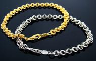 Designer Style Plated Chain Bracelet