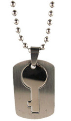 Stainless Steel Key Necklace