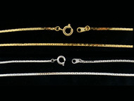 Herringbone Plated Chains : 20 Inch : Price Per Gross
