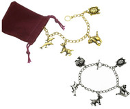 Animal Charm Bracelet in Pouch