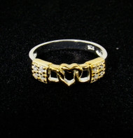 Love Lock .925 Sterling Silver Ring