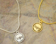 Gabby & Gia Necklace : Hope