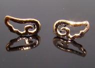 Wholesale Cut Out Angel Wing Earrings