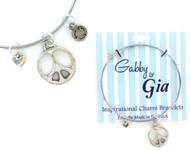 Gabby & Gia Bracelet - Peace
