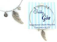 Gabby & Gia Bracelet - Angel Wing