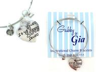 Gabby & Gia Bracelet - Lots of Love
