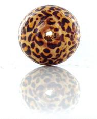 Leopard Print Bead : 2CM