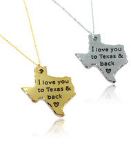 To Texas & Back Necklace Wholesale