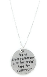Learn, Live, Hope Necklace