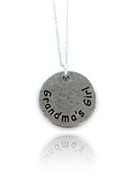 Grandma's Girl Necklace