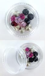 Plastic Bead Container - Round