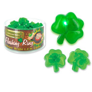 Flashing Shamrock Ring