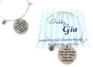 Gabby & Gia Bracelet - Learn Live Hope
