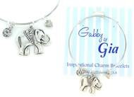 Gabby & Gia Bracelet - Lucky Elephant