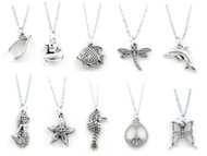 Assorted Charm Necklaces by the Dozen