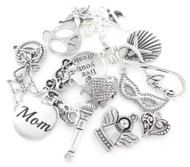 Wholesale Lot of Jewelry Charms - 50 Pieces