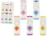 Love Chat Glass Pendants Wholesale