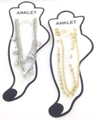 Anklet and Toe Ring Wholesale Lot - 24 Pieces