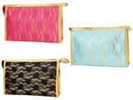 Lace Multi Use Cosmetics Bag Wholesale
