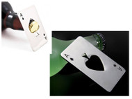 Wholesale Stainless Steel Playing Card Bottle Opener