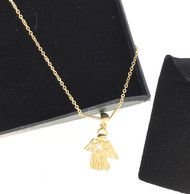 Crystal Angel Necklace - Gift Box / Pouch