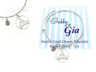 Gabby & Gia Bracelet - Yoga Lotus Pose