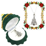 Wholesale Christmas Tree Necklaces
