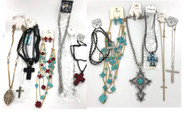 Wholesale Cross Necklace Assortment by the Dozen