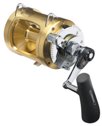 Shimano Tiagra Fishing Reel 30 WLRSA - 2 Speed Game Reel