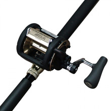 Shimano TLD 50 2 speed fishing reel with Backbone 24kg Rod