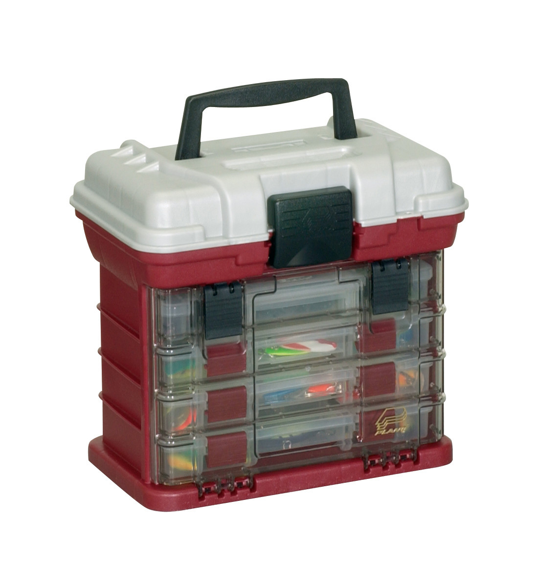 Plano 1354 tackle box tackle storage system fishing tackle box for Plano fishing tackle boxes